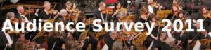 Audience Survey 2011
