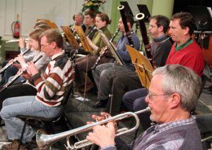 Members rehearsing