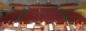 View of auditorium