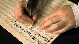 Composing with quill