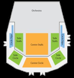 Large seating area plan
