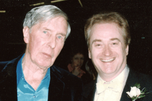 Sir Michael Tippett and Adrian Brown