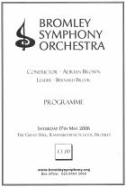 Programme May 2008
