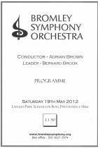 Programme May 2012