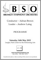 Programme May 2015